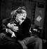 """""""Les Parents terribles"""", pièce de Jean Cocteau. Jean Marais et Yvonne de Bray. Paris, Théâtre du Gymnase, février 1946. © Studio Lipnitzki / Roger-Viollet"""