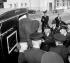Procès d'un participant à l'attaque du train postal Glasgow-Londres, dirigée par Ronald Arthur Biggs (Ronnie, 1929-2013). Angleterre, 17 septembre 1963. © TopFoto / Roger-Viollet