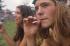 25ème anniversaire du festival de Woodstock. Bethel (Etats-Unis), août 1994.  © A. Lichtenstein / The Image Works / Roger-Viollet