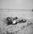 Couple on the beach. Deauville (France), 1937. © Boris Lipnitzki / Roger-Viollet