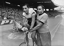 Fausto Coppi (1919-1960), Italian racing cyclist. © Roger-Viollet
