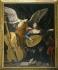 """Carlo Saraceni (1579-1620). """"Sainte Cécile avec l'ange"""", 1600-1620. Rome (Italie), palais Barberini, galerie nationale d'Art ancien. © Alinari/Roger-Viollet"""