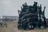 Restes d'une scène d'un film de Fellini, tourné à Cinecittà.   © Alinari/Roger-Viollet