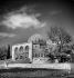 Le dôme du Rocher (ou la coupole du Rocher), sur l'emplacement de l'ancien Temple de Jérusalem (Palestine, Israël), décembre 1953. © Roger-Viollet