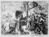 Allégorie représentant Christophe Colomb (1451-1506), navigateur italien, découvrant l'Amérique. © Roger-Viollet