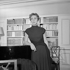 "Danielle Darrieux in ""Evangéline"". Paris, théâtre des Ambassadeurs, September 1952. © Studio Lipnitzki / Roger-Viollet"