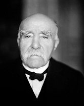 Georges Clemenceau (1841-1929), French politician. © Henri Martinie / Roger-Viollet