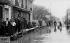 Flood of the Seine in Parisian suburb. January 1910. © Neurdein/Roger-Viollet