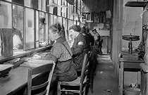 World War One. Women working in an administration. France. © Maurice-Louis Branger/Roger-Viollet