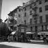 La place Rossetti. Nice (Alpes-Maritimes), juillet 1957. © Roger-Viollet