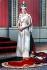 La reine Elisabeth II (née en 1926), en tenue de cérémonie pour le 25ème anniversaire de son couronnement (jubilé d'argent). Londres (Angleterre), cathédrale Saint-Paul, 1977. © Peter Grugeon/TopFoto/Roger-Viollet