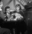 Françoise Sagan and Michel Magne. Paris, on September 28, 1957.   © Roger Berson / Roger-Viollet