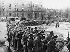 Guerre 1939-1945. Libération de Strasbourg (Bas-Rhin) par la 2ème DB du général Leclerc de Leclerc. Prisonniers allemands. 23 novembre 1944. © LAPI/Roger-Viollet