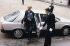 Alain Juppé (né en 1945), ministre délégué auprès du ministre de l'Économie, des Finances et de la Privatisation, arrivant au Conseil des ministres. Palais de l'Elysée, 1987. © Jean-Pierre Couderc/Roger-Viollet