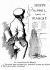 Société du tunnel sous la Manche. Dessin humoristique (1906) d'Albert Guillaume (1873-1942).      © Roger-Viollet