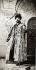 Nicolas II (1868-1918), dernier tsar de toutes les Russies, en costume traditionnel de couronnement au Kremlin. Moscou (Russie). © Iberfoto / Roger-Viollet