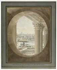 Victor-Jean Nicolle (1754-1826). View of Paris from a bull's eye on the Perrault's Colonnade (or Colonnade du Louvre). Paris (Ist arrondissement). Watercolour. Paris, musée Carnavalet. © Musée Carnavalet / Roger-Viollet
