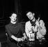 """Rehearsal for """"Un beau dimanche de septembre"""", play by Ugo Betti. Suzanne Flon and Claude Rich. Paris, Théâtre de l''Atelier, October 1959. © Studio Lipnitzki/Roger-Viollet"""