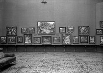 Exhibition of the last works (1915-1919) by Auguste Renoir (1841-1919), French painter.         © Albert Harlingue/Roger-Viollet