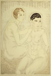 "Foujita (Léonard Tsuguharu Foujita, 1886-1968). ""Les deux amies"". Paris, musée d'Art moderne. © Musée d'Art Moderne/Roger-Viollet"