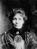Emmeline Pankhurst (1858-1928), féministe anglaise, 1913. © Maurice-Louis Branger / Roger-Viollet