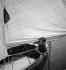 Mode au Yacht-club de Meulan (Yvelines), vers 1935. © Boris Lipnitzki/Roger-Viollet