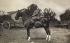 Guerre 1914-1918. Victor Emmanuel III (1869-1947), roi d'Italie, sur son cheval. 1916.  © Ugo Ojetti / Alinari / Roger-Viollet