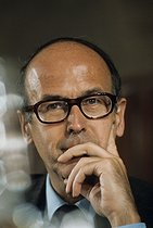 Valery Giscard d'Estaing (born in 1926), French statesman, in 1972. © Jean-Pierre Couderc / Roger-Viollet