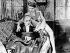 """Monsieur Verdoux"", film de Charlie Chaplin. Martha Raye et Charlie Chaplin. 1947. © Roger-Viollet"