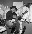Henri Salvador (1917-2008), chanteur français, vers 1950.     © Claude Poirier / Roger-Viollet
