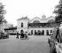 The Gare Montparnasse train station. Paris, June 1956. © Roger-Viollet