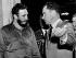 Richard Nixon (1913-1994), vice-président des Etats-Unis, recevant Fidel Castro (1926-2016), homme d'Etat et révolutionnaire cubain, au Capitol. Washington D.C. (Etats-Unis), 19 avril 1959. © TopFoto/Roger-Viollet