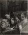 Georges Duhamel ((1884-1966) assis dans une jeep de l'armée à la Libération. Photographie de Jean Roubier (1896-1981), 1944. Bibliothèque historique de la Ville de Paris. © Jean Roubier / BHVP / Roger-Viollet