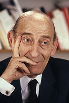 Raymond Aron (1905-1983), French writer and philosopher, 1983. © Jean-Pierre Couderc / Roger-Viollet