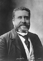 Jean Jaurès (1859-1914), French politician and writer. © Roger-Viollet