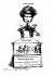 """Hector Berlioz (1803-1869), compositeur français. Caricature du compositeur après l'échec de son opéra """"Benvenuto Cellini"""". Lithographie, 1838. © Roger-Viollet"""