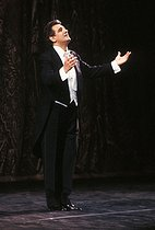 Placido Domingo (born in 1941), Italian tenor. Paris, Gala France-Libertés, February 1989. © Colette Masson / Roger-Viollet