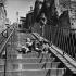 Stairs in Montmartre. Paris (XVIIIth arrondissement). © Roger-Viollet