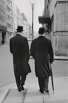 Men in the City. London (England), 1959. © Jean Mounicq/Roger-Viollet