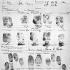 Relevé des empreintes digitales de Rosa Parks (1913-2005), militante américaine des droits civiques, prises lors de son arrestation après avoir refusé de céder sa place à un passager blanc dans un bus à Montgomery (Etats-Unis), 1er décembre 1955. © TopFoto/Roger-Viollet