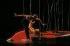 """""""Embattled Garden"""". Chorégraphie : Martha Graham. Martha Graham Dance Company : Peter London et Christine Dakin. Créteil (Val-de-Marne), Maison des Arts, décembre 1995. © Colette Masson / Roger-Viollet"""