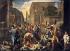 """Nicolas Poussin (1594-1665). """"Le Fléau à Ashdod"""" ou """"Les Philistins touchés par le fléau"""". Huile sur toile, 1630-1631. Paris, musée du Louvre. © Iberfoto / Roger-Viollet"""
