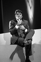 Bernard Tapie (born in 1943), French politician and businessman, April 1990. © Roger-Viollet
