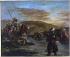 Eugène Delacroix (1798-1863). Moroccan horseman crossing a ford, 1858. Paris, musée d'Orsay. © Roger-Viollet