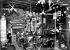 """Paris. """"L'Auberge du Clou"""", avenue Trudaine, à Montmartre. Cabaret littéraire fréquenté notamment par G. Courteline, E. Satie, C. Debussy et A. Bruant.    © Albert Harlingue / Roger-Viollet"""