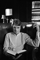Claude François (1939-1978), Egyptian-born French singer, at his place. France, 1968. Photograph by Georges Kelaïditès (1932-2015). © Georges Kelaïditès / Roger-Viollet