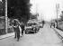 World War II. Exodus of 1940. Transport of civilian refugees in Nemours (Seine-et-Marne).   © Albert Harlingue/Roger-Viollet