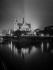Paris la nuit. Notre-Dame. © Roger-Viollet