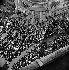 World War II. Liberation of Paris. Crowd near the Paris City Hall (IVth arrondissement), on August 25, 1944. © Pierre Jahan/Roger-Viollet