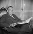 Francis Poulenc (1899-1963), compositeur français. Paris, vers 1950-1960. © Boris Lipnitzki/Roger-Viollet
